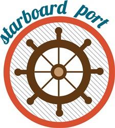 Starboard Port Print Art