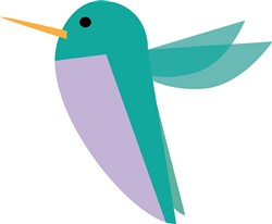 Hummingbird Print Art