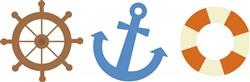 Nautical Icons Print Art