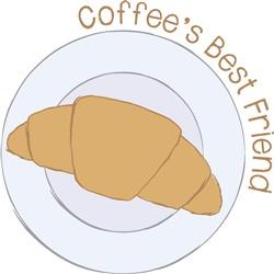 Coffees Best Friend Print Art