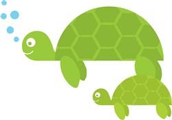 Sea Turtles Print Art