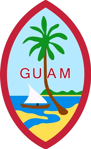 guam seal vector illustration | annthegran