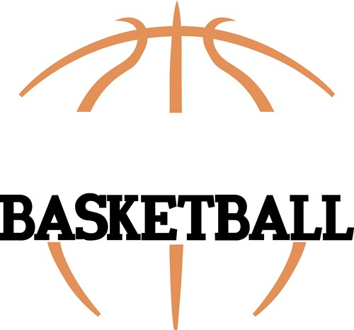 Line Drawing Basketball : Basketball name drop vector illustration annthegran