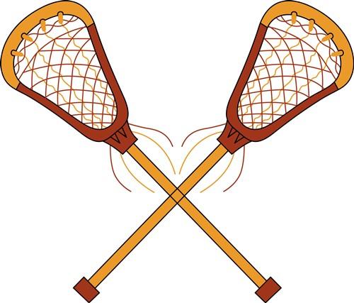 Lacrosse Sticks Vector Illustration Annthegran