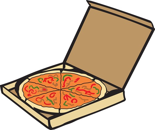 pizza box clipart free - photo #23