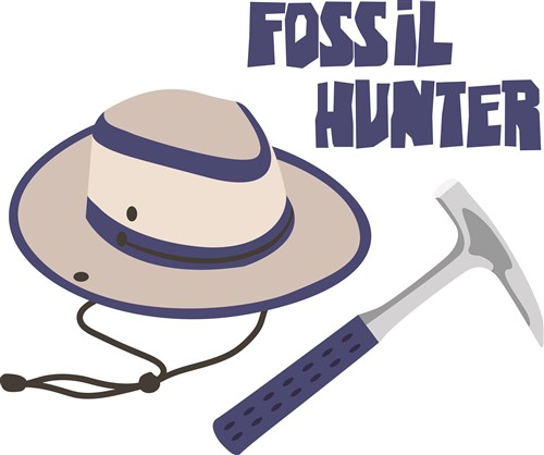 Paleontologist Tools Occupational vector design: fossil hunter from ...