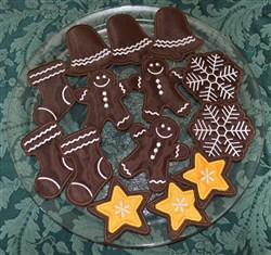 Christmas Gingerbread Cookies Applique