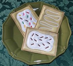 Toaster Strudel Applique
