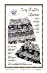 Easy Ruffles Apron Pattern