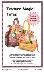 Texture Magic Totes Pattern