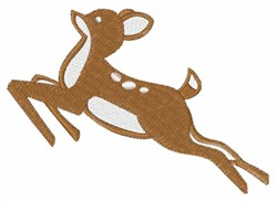Brown Deer embroidery design