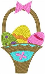 Easter Basket embroidery design