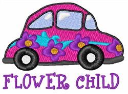 FLower Child embroidery design