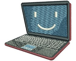 LAPTOP embroidery design