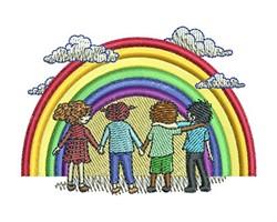 RAINBOW KIDS embroidery design