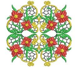 Jacobean Block embroidery design