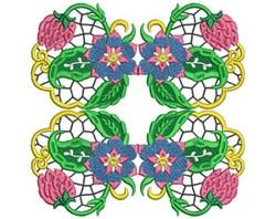 Jacobean Decor embroidery design