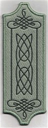 Bookmark 104 Celtic flourishes embroidery design
