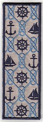 Bookmark 107 nautical embroidery design
