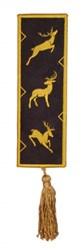 Bookmark 201 Reindeer front embroidery design