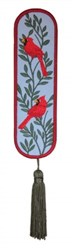 Bookmark 210 Cardinals embroidery design