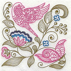 Jacobean Medley embroidery design