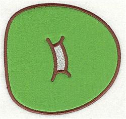 D Applique Font embroidery design