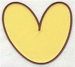V Applique Font embroidery design