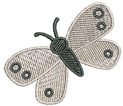 Butterfly Moth embroidery design