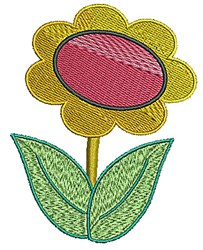Flower Stem embroidery design