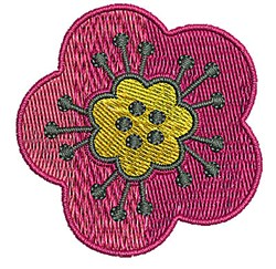 Flower Bloom embroidery design