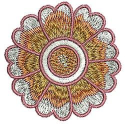Blossom Henna embroidery design