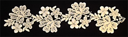 Lace Floral Border embroidery design