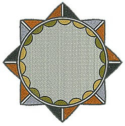 Southwestern Circle Design embroidery design