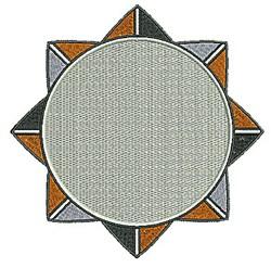 Southwestern Floral Design embroidery design
