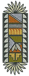 Southwestern Design embroidery design