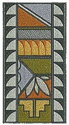 Southwestern Rectangle Design embroidery design