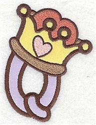 Letter Applique - Q embroidery design