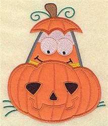Be Afraid Of Jack O embroidery design