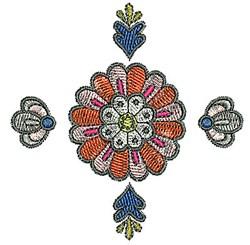 Tudor Bloom embroidery design