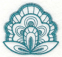 Floral Decor embroidery design