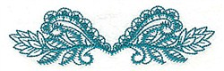 Leaf Decor embroidery design