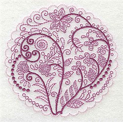 Whimsical Flowers A embroidery design