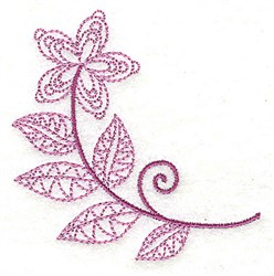 Whimsical Flower 8 embroidery design