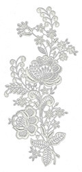 Lace Large 7 embroidery design