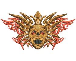 METAL BLADE SKULL embroidery design