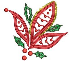 ChristmasPaisley-01 embroidery design