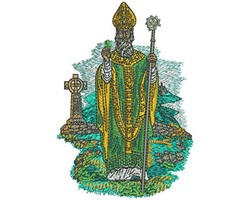 ST PATRICK embroidery design