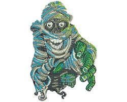 MUMMY REACH embroidery design