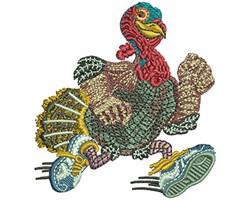 TURKEY RUN embroidery design